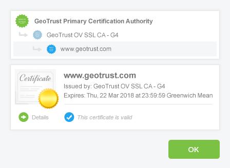 Comodo SSL Certificate - Club Hosting